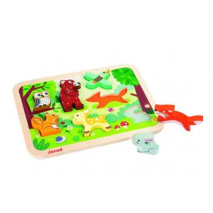 Janod - J07023 - Chunky puzzle foret (140647)