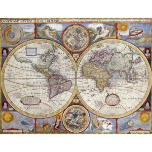 Nathan puzzles - 87870 - Puzzle 2000 pièces - Planisphère historique (150585)