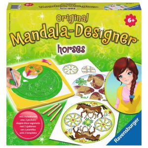 Ravensburger - 29742 - Midi Mandala Designer® - Horses (150987)