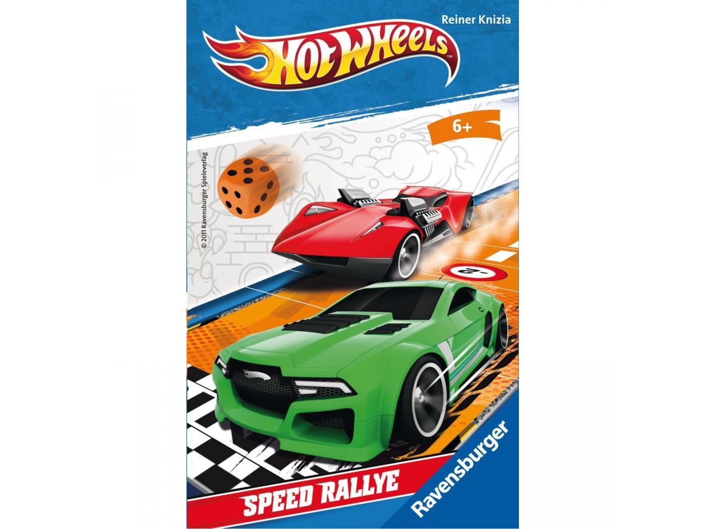 ravensburger hot wheels speed rallye mini jeux. Black Bedroom Furniture Sets. Home Design Ideas