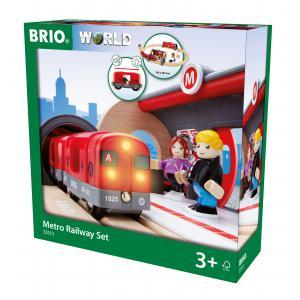 Brio - 33513 - Circuit métro -  Thème Voyageur - Age 3 ans + (155279)