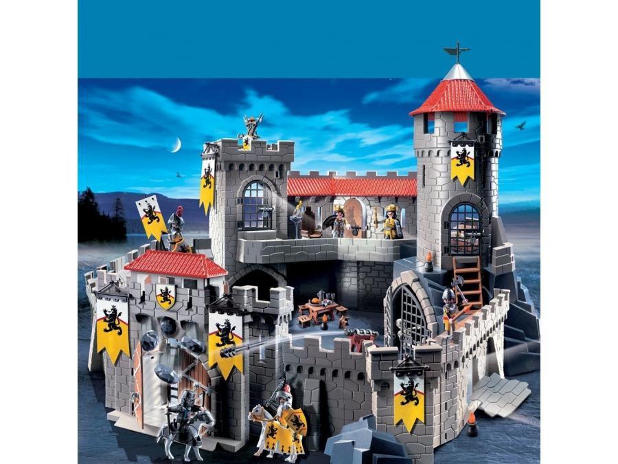 Playmobil Château Fort Des Chevaliers Du Lion