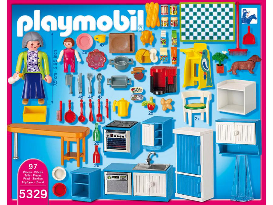 Beautiful cuisine maison moderne playmobil images for Cuisine playmobil