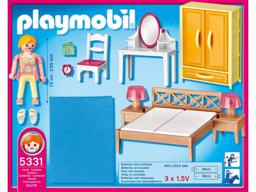 playmobil chambre des parents avec coiffeuse