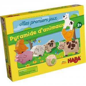 Haba - 4765 - Mes premiers jeux – Pyramide d'animaux (156579)