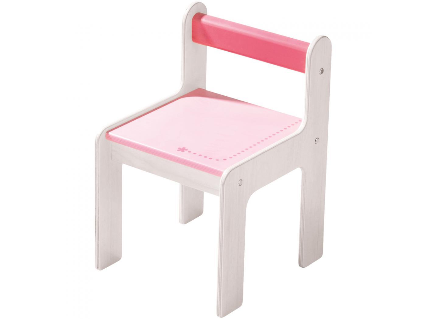 haba chaise d enfant puncto rose. Black Bedroom Furniture Sets. Home Design Ideas