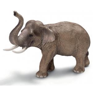 Schleich - 14653 - Figurine Eléphant d'Asie mâle (158309)