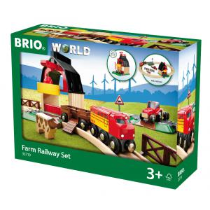 Brio - 33719 - Circuit de la ferme  -  Thème Ferme - Age 3 ans + (159298)