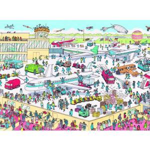 Nathan puzzles - 86851 - Puzzle 150 pièces - Charlie à l'aéroport / Où est Charlie ? (159893)