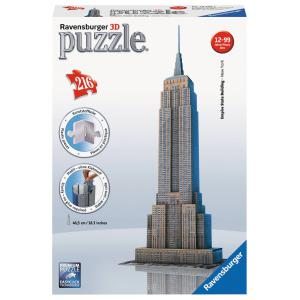 Ravensburger - 12553 - Puzzle 3D Building - Collection midi classique - Empire State Building (159969)