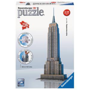 Ravensburger - 12553 - 3D puzzle Building 216 pièces - Empire State Building (159969)