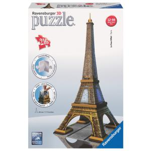 Ravensburger - 12556 - Puzzle 3D Building - Collection midi classique - Tour Eiffel (159971)