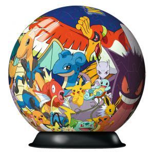 Pokemon - 11785 - Puzzle 3D rond 72 pièces - Collection classique - Pokémon (160017)