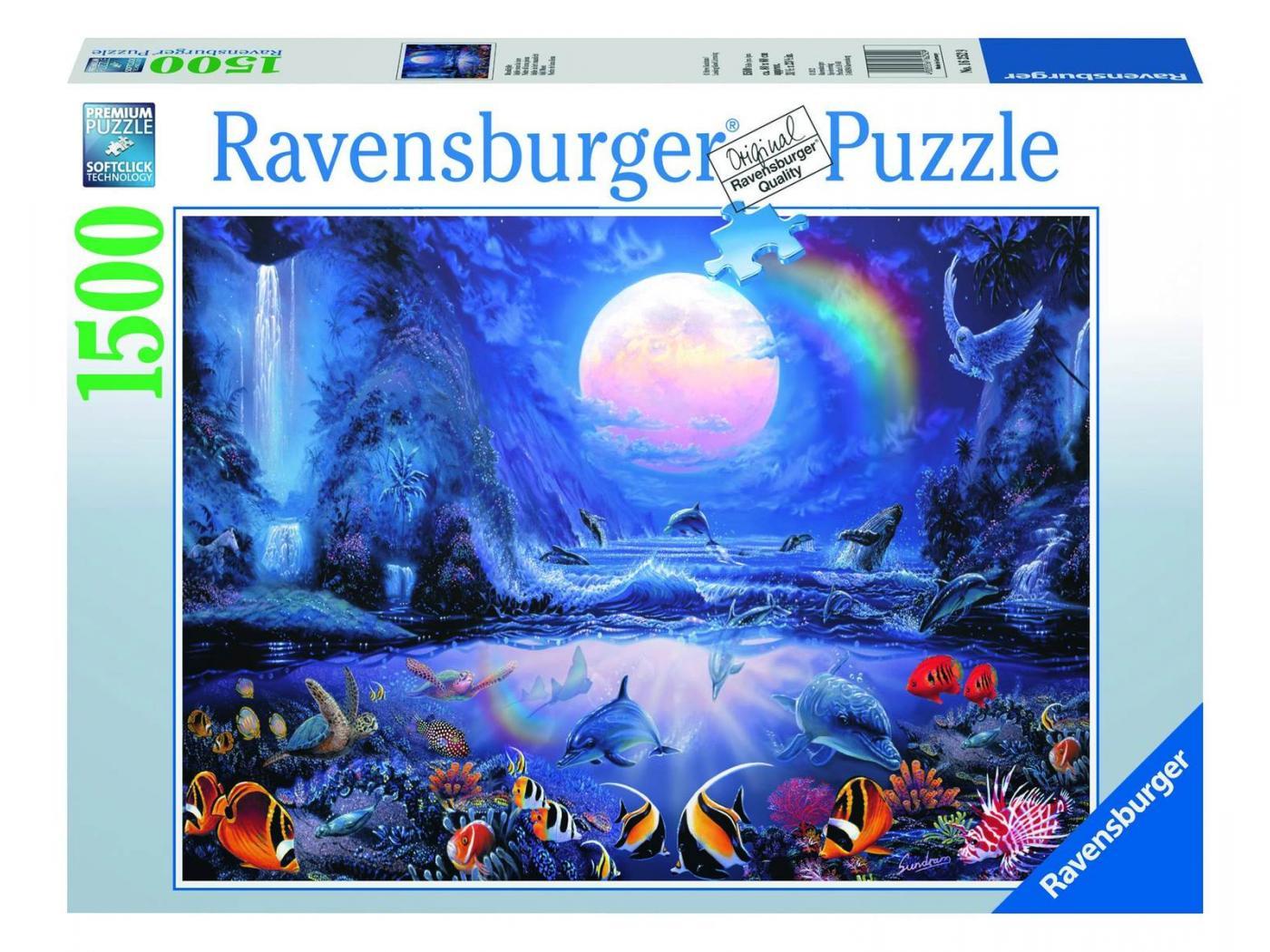 ravensburger puzzle 1500 pi ces idylle sous la lune. Black Bedroom Furniture Sets. Home Design Ideas