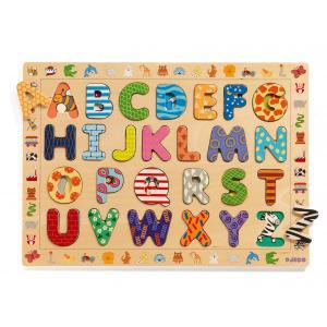 Djeco - DJ01800 - Puzzle éducatif bois ABC (1668)