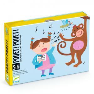 Djeco - DJ05152 - Jeu de cartes - Pouet ! Pouet ! (1688)