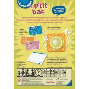 Ravensburger - 26567 - Jeux de société enfants - Jeux de réfléxion - Le P'tit bac des Incollables (160211)