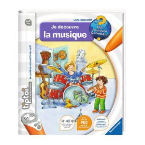 Ravensburger - 00605 - Livres tiptoi® Je découvre la musique (160315)