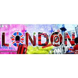 Nathan puzzles - 87610 - Puzzle 1000 pièces panorama - London script (160361)