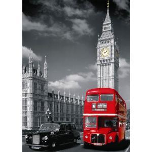 Nathan puzzles - 87735 - Puzzle 1500 pièces - Bus Londonien (160383)