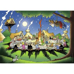 Astérix et Obélix - 87737 - Puzzle 1500 pièces - Nathan - Le banquet / Astérix (160389)