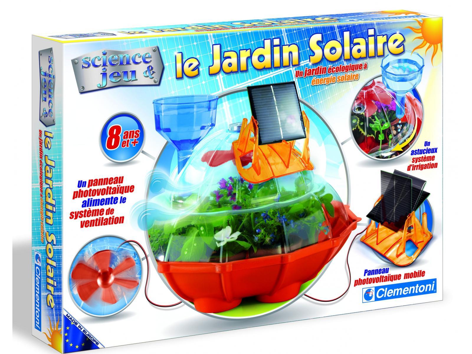clementoni jardin solaire jeux scientifiques. Black Bedroom Furniture Sets. Home Design Ideas