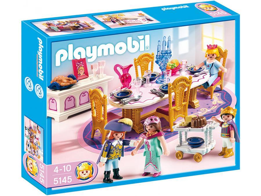 Playmobil salle manger royale for Salle manger playmobil