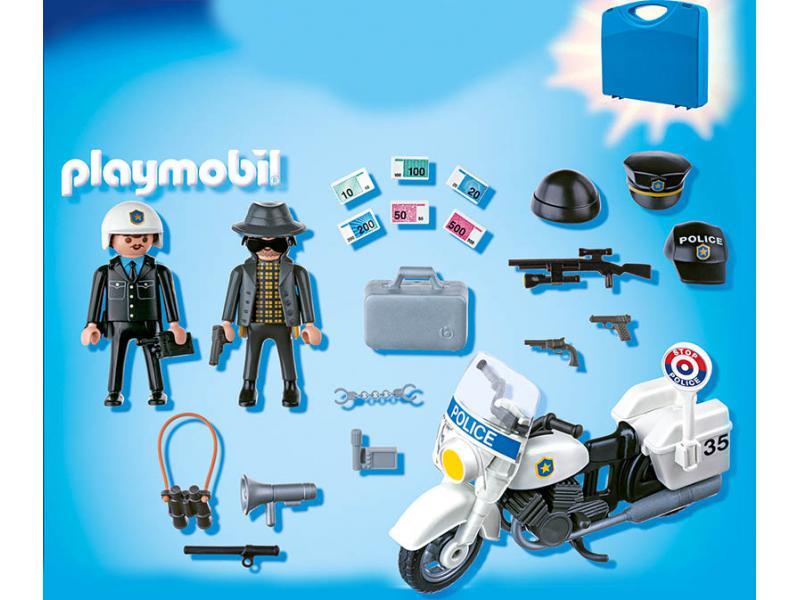 Playmobil valisette policier et voleur playmobil - Playmobile policier ...