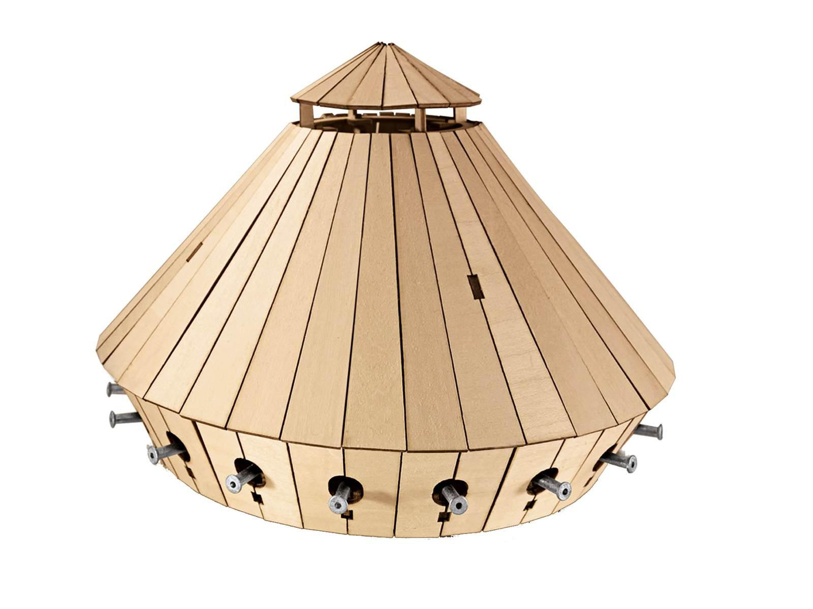 revell maquette en bois char d 39 assaut l onard de vinci chelle 1 24. Black Bedroom Furniture Sets. Home Design Ideas