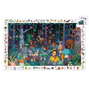 Djeco - DJ07504 - Puzzle observation La forêt enchantée - 100 pièces (1797)