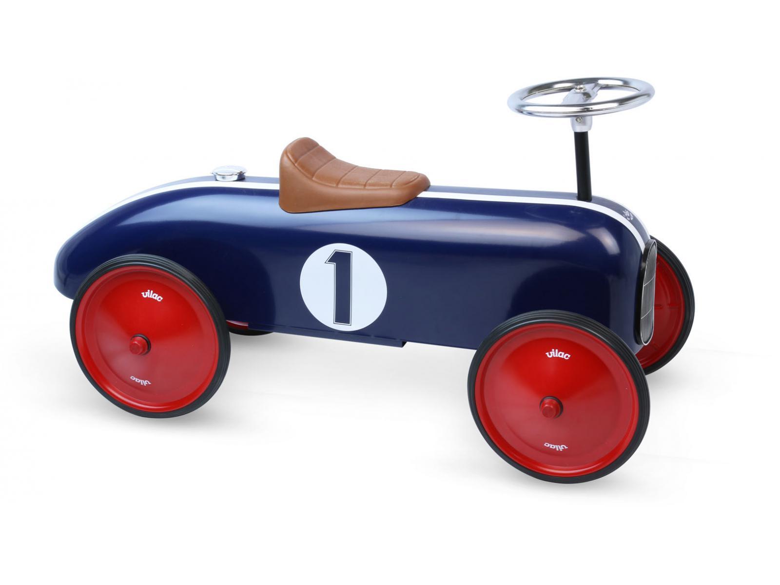 vilac porteur voiture vintage bleue. Black Bedroom Furniture Sets. Home Design Ideas