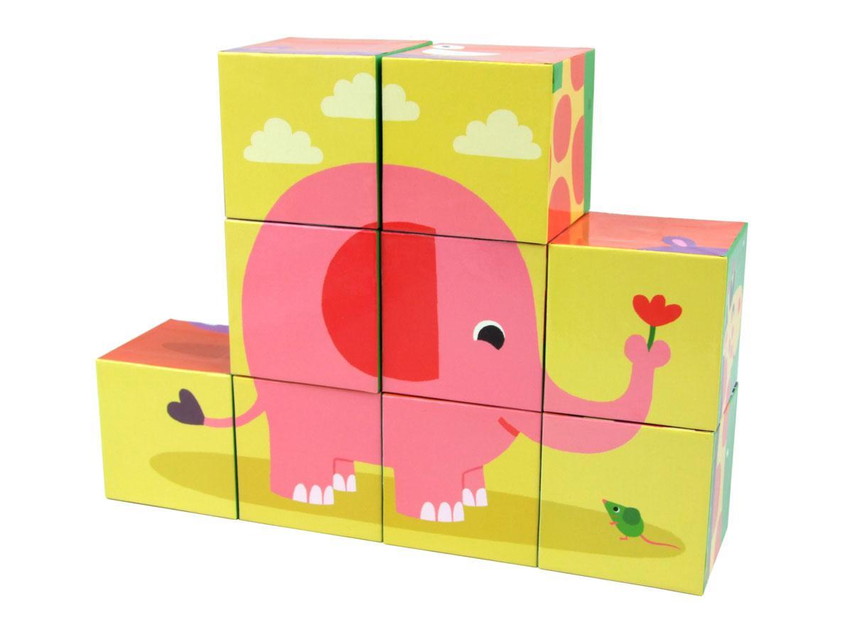 vilac cubes en carton les animaux. Black Bedroom Furniture Sets. Home Design Ideas
