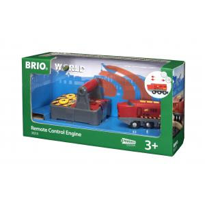Brio - 33213 - Train express radiocommande - Thème Transport de marchandises - Age 3 ans + (171379)