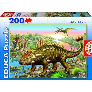 Educa - 15264 - Puzzle 200 dinosaures (172130)