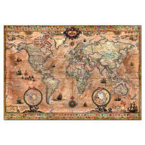 Educa - 15159 - Puzzle 1000 mappemonde (172232)