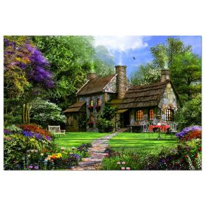 Educa - 15169 - Puzzle 3000 cottage en pierre (172262)