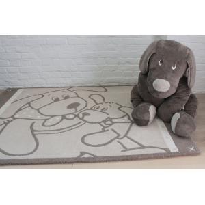 Dimpel - 800007 - Fifi tapis laine 100 x 140 cm - beige (172555)