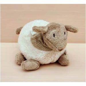 Dimpel - 880321 - Peluche mouton Fidelie 15 cm blanc (172679)