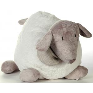 Dimpel - 880347 - Peluche mouton Fidelie 25 cm blanc (172683)