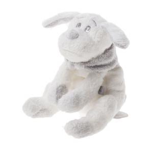 Dimpel - 811018 - Doudou chien Fifi 20 cm - blanc (172691)