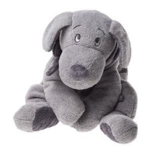 Dimpel - 811109 - Doudou chien Fifi 40 cm - gris-clair (172715)
