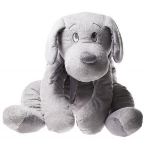 Dimpel - 811187 - Peluche chien Fifi 75 cm gris clair (172719)