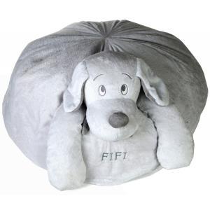 Dimpel - 811382 - Fifi sac coussin chien - gris-clair (172723)
