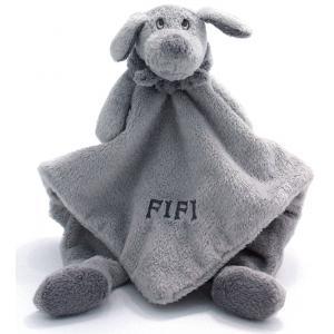Dimpel - 811304 - Doudou chien Fifi gris clair (172727)