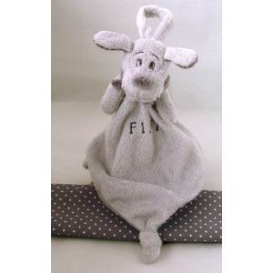 Dimpel - 811343 - Fifi doudou chien attache-tétine - gris-clair (172729)