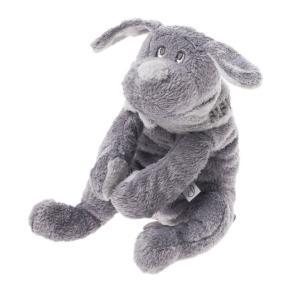 Dimpel - 811044 - Doudou chien Fifi 20 cm - grisfonce (172731)