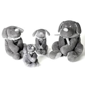 Dimpel - 811083 - Doudou chien Fifi 30 cm - grisfonce (172733)