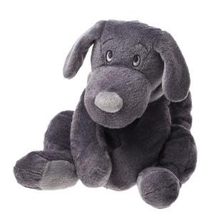 Dimpel - 811122 - Peluche chien Fifi 40 cm gris foncé (172735)