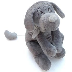 Dimpel - 811278 - Peluche chien musical Fifi gris foncé (172743)