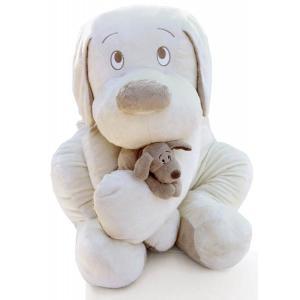 Dimpel - 810173 - Peluche chien Fifi 75 cm crème (172757)